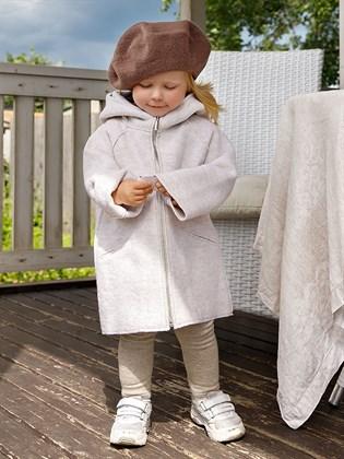 Пальто для девочки из валяной шерсти