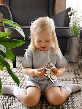 Блузка детская с коротким рукавом