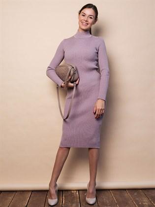 Платье трикотажное лапша