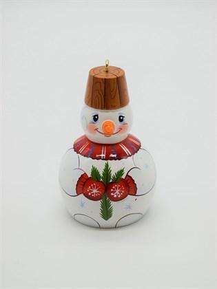 Колокольчик большой Снеговик