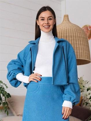Куртка из валяной шерсти