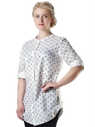Блуза летняя с карманами