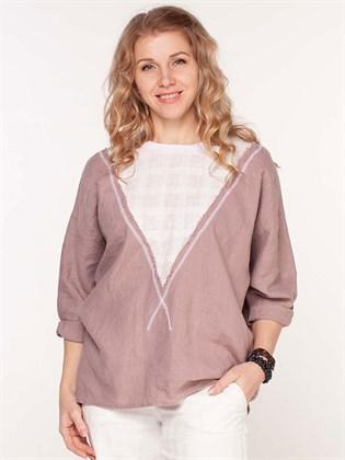 Блузка из льна