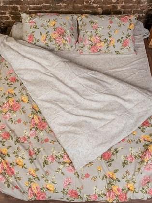 Постельное белье Семейный из льна