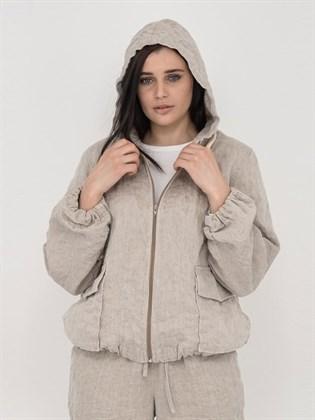 Куртка из льна