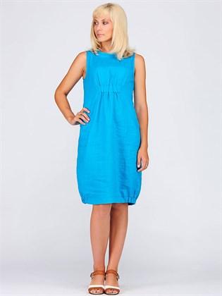 Летнее платье из льна