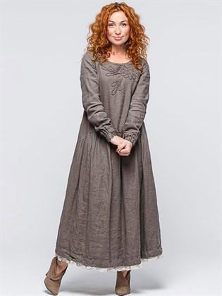Платье льняное (бохо)