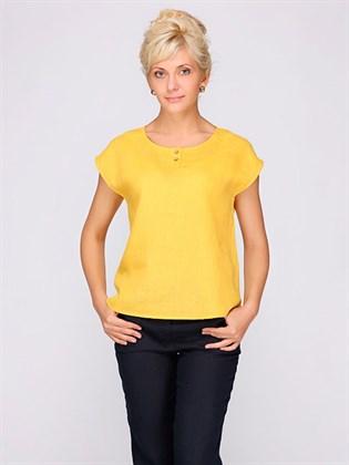 Льняная блузка