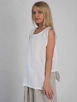 Блузка женская из льна