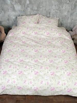 Постельное белье двуспальное из льна