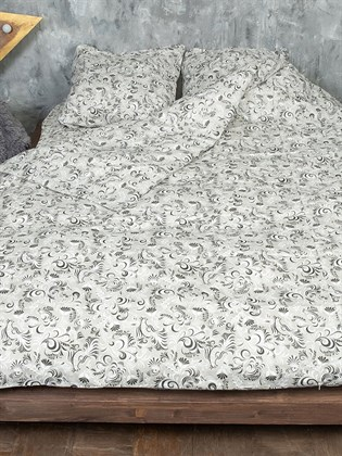 Постельное белье двуспальный из льна