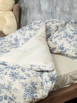 Постельное белье 1,5-спальное из льна