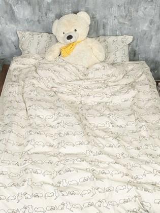 Постельное белье 1,5-спальный льняной