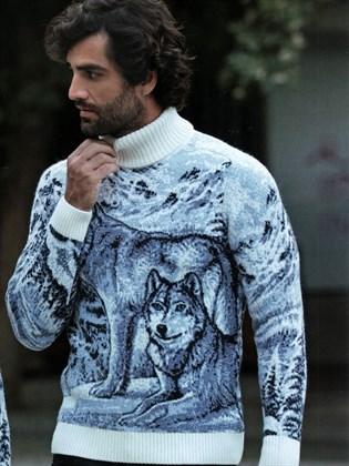 Свитер Снежные волки