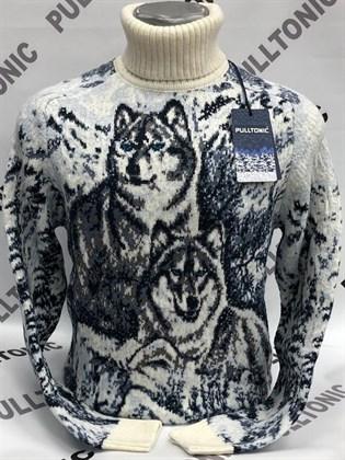 Свитер семья волка