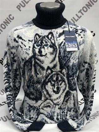 Свитер семья волка -2