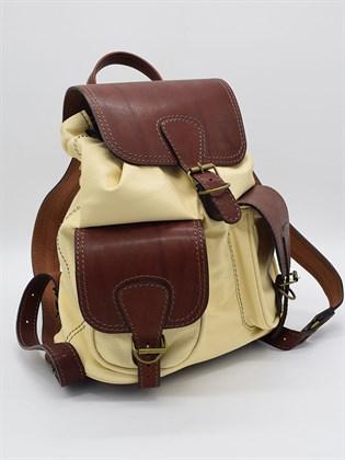 Рюкзак большой из мягкой кожи