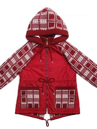 Куртка детская парка для девочки