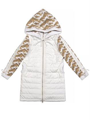 Пальто детское стеганое