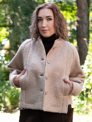 Куртка из вареной шерсти
