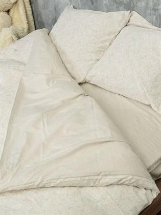 Постельное белье Семейное из льна