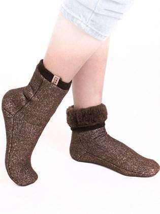 Носки меховые эластичные