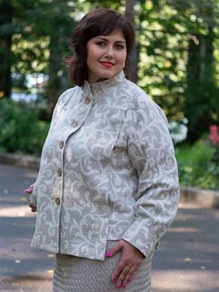 Куртка женская из льна