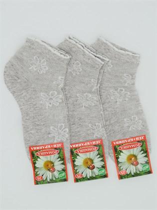 Носки женские Лен Белорусочка (3 пары)