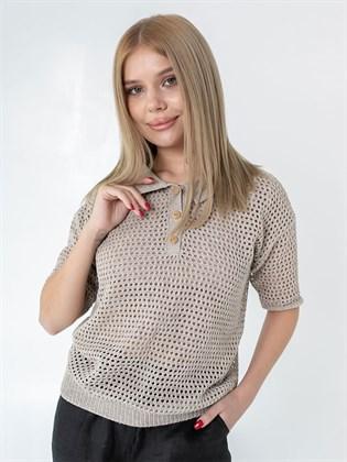 Блузка льняная женская