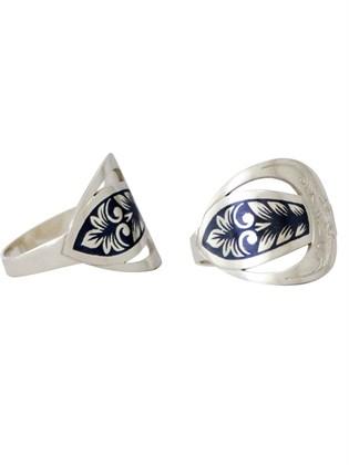 Кольцо из серебра Луиза