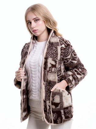 """Куртка женская """"Север"""" шерсть"""