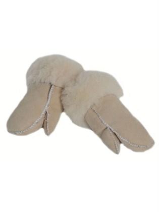 Детские меховые рукавицы из овчины