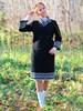 Юбка изо льна с полушерстью - фото 26531