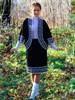 Юбка изо льна с полушерстью - фото 26532