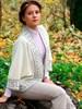 Пончо женское с полушерстью - фото 26803
